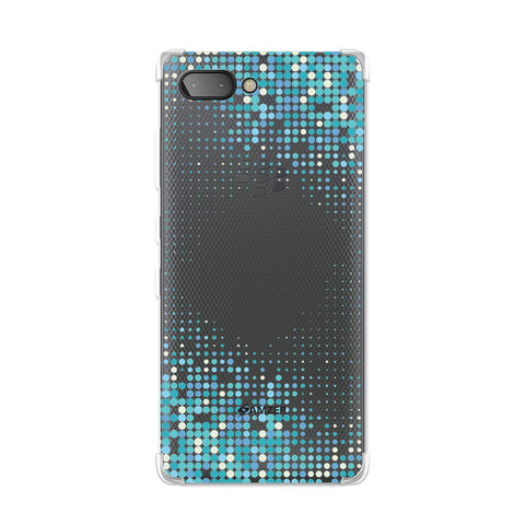 Blue Matrix Soft Flex TPU Case For BlackBerry Key2