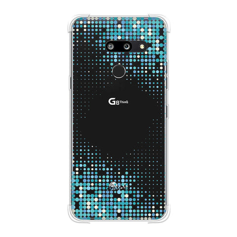 Blue Matrix Soft Flex Tpu Case For LG G8 ThinQ