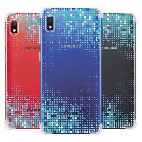 Blue Matrix Soft Flex Tpu Case For Samsung Galaxy A10e