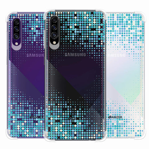 Blue Matrix Soft Flex Tpu Case For Samsung Galaxy A30s