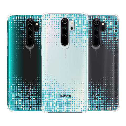 Blue Matrix Soft Flex Tpu Case For Redmi Note 8 Pro