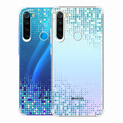 Blue Matrix Soft Flex Tpu Case For Redmi Note 8