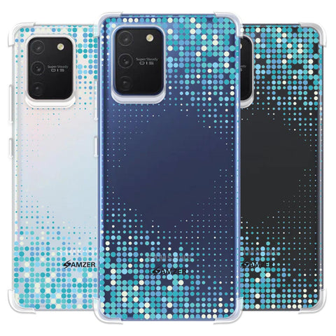 Blue Matrix Soft Flex Tpu Case For Samsung Galaxy S10 Lite