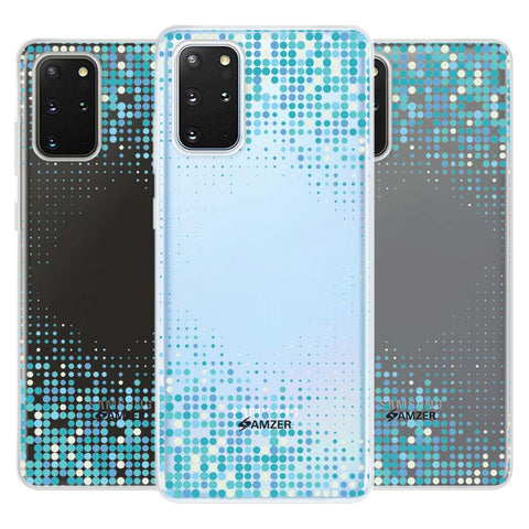 Blue Matrix Soft Flex Tpu Case For Samsung Galaxy S20+