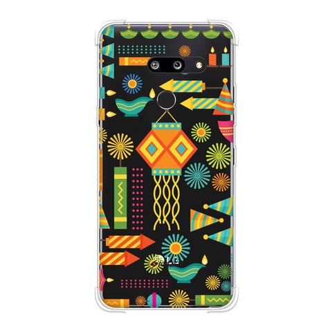 Diwali Galore Soft Flex Tpu Case For LG G8 ThinQ