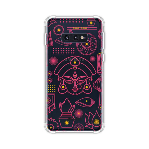 Divine Goddess - Red Soft Flex Tpu Case For Samsung Galaxy S10e