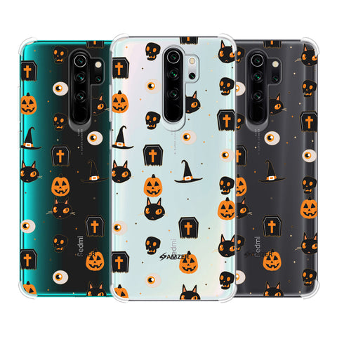 Spooky Collage Soft Flex Tpu Case For Redmi Note 8 Pro