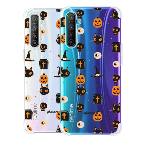 Spooky Collage Soft Flex Tpu Case For Realme X2