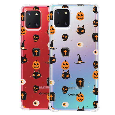 Spooky Collage Soft Flex Tpu Case For Samsung Galaxy Note10 Lite