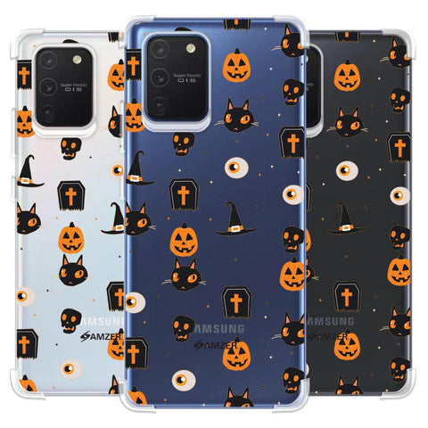 Spooky Collage Soft Flex Tpu Case For Samsung Galaxy S10 Lite