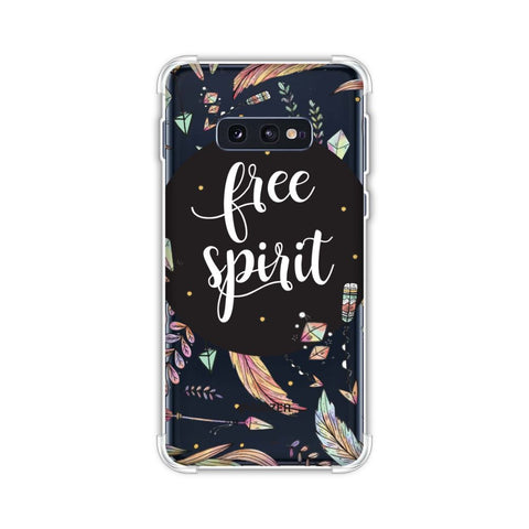 The Free Spirit Soft Flex Tpu Case For Samsung Galaxy S10e