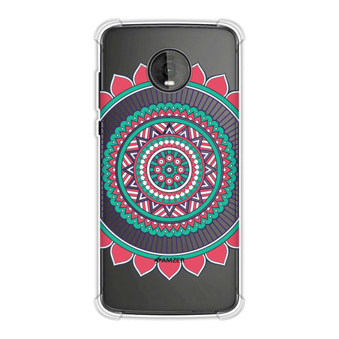 Mandala Beauty Soft Flex Tpu Case For Motorola Moto Z4