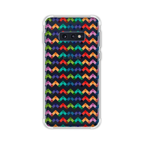 Chevron Chic 1 Soft Flex Tpu Case For Samsung Galaxy S10e