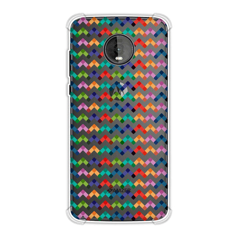 Chevron Chic 1 Soft Flex Tpu Case For Motorola Moto Z4