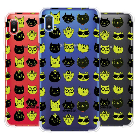 Cat Party Soft Flex Tpu Case For Samsung Galaxy A10e