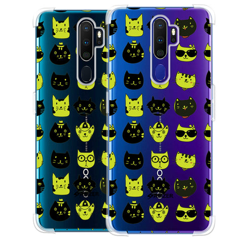Cat Party Soft Flex Tpu Case For Oppo A9 2020