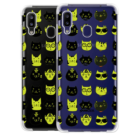 Cat Party Soft Flex Tpu Case For Samsung Galaxy M10s