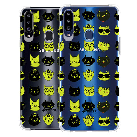 Cat Party Soft Flex Tpu Case For Samsung Galaxy A20s