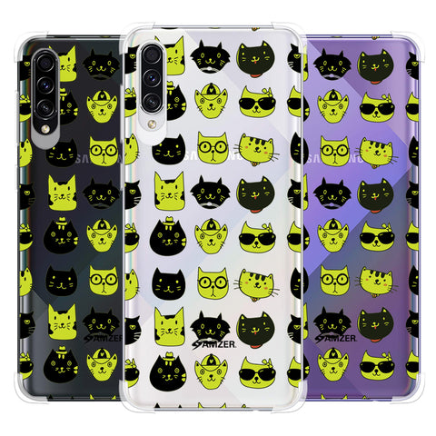 Cat Party Soft Flex Tpu Case For Samsung Galaxy A50s