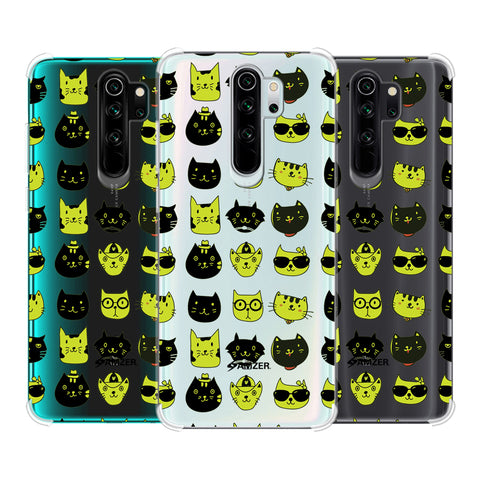 Cat Party Soft Flex Tpu Case For Redmi Note 8 Pro