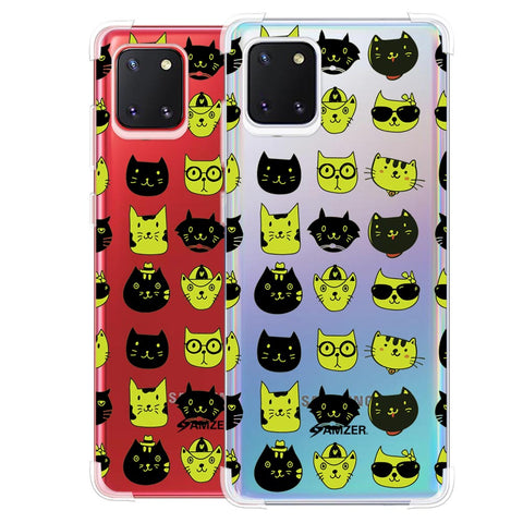 Cat Party Soft Flex Tpu Case For Samsung Galaxy Note10 Lite
