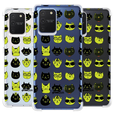Cat Party Soft Flex Tpu Case For Samsung Galaxy S10 Lite