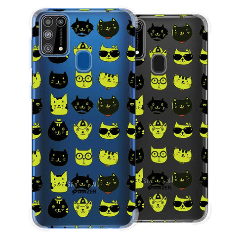 Cat Party Soft Flex Tpu Case For Samsung Galaxy M31