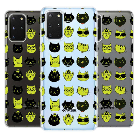 Cat Party Soft Flex Tpu Case For Samsung Galaxy S20+