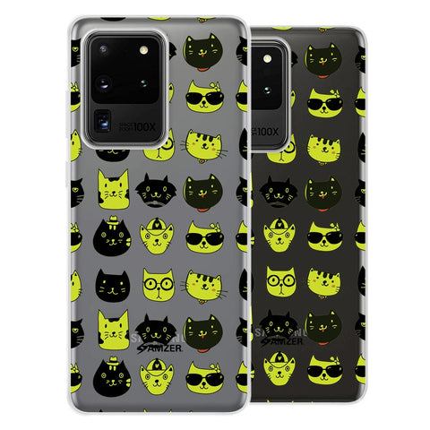 Cat Party Soft Flex Tpu Case For Samsung Galaxy S20 Ultra