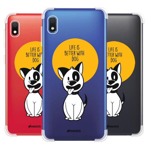 Life Is Better With A Dog Soft Flex Tpu Case For Samsung Galaxy A10e