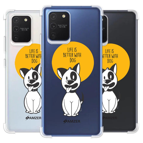 Life Is Better With A Dog Soft Flex Tpu Case For Samsung Galaxy S10 Lite