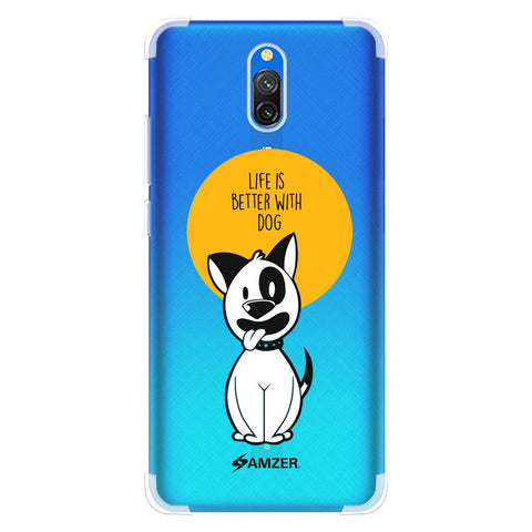 Life Is Better With A Dog Soft Flex Tpu Case For Redmi 8A Dual