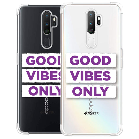 Good Vibes Only Soft Flex Tpu Case For Oppo A5 2020