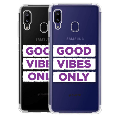 Good Vibes Only Soft Flex Tpu Case For Samsung Galaxy M10s