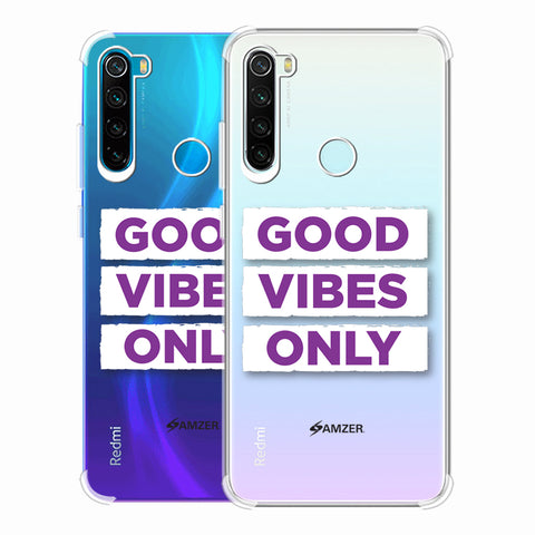 Good Vibes Only Soft Flex Tpu Case For Redmi Note 8