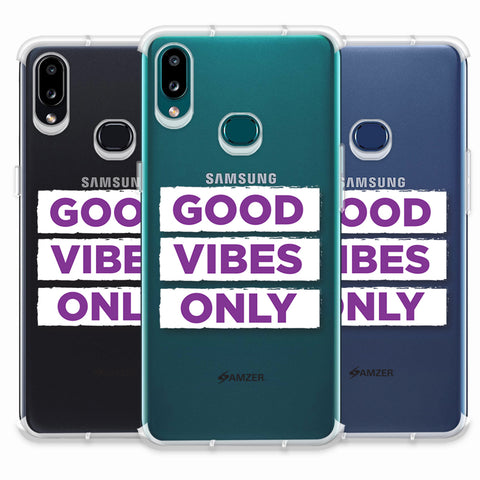 Good Vibes Only Soft Flex Tpu Case For Samsung Galaxy A10s