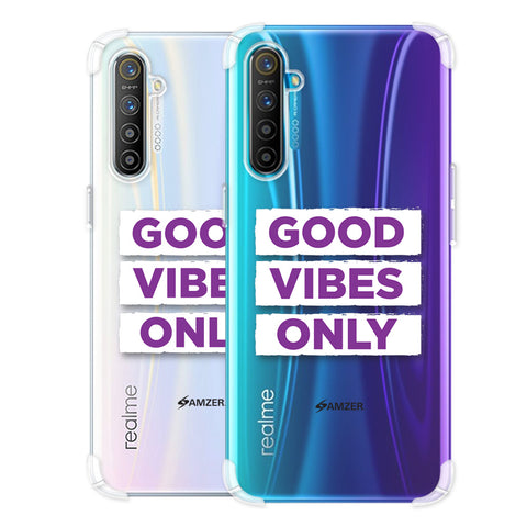 Good Vibes Only Soft Flex Tpu Case For Realme X2