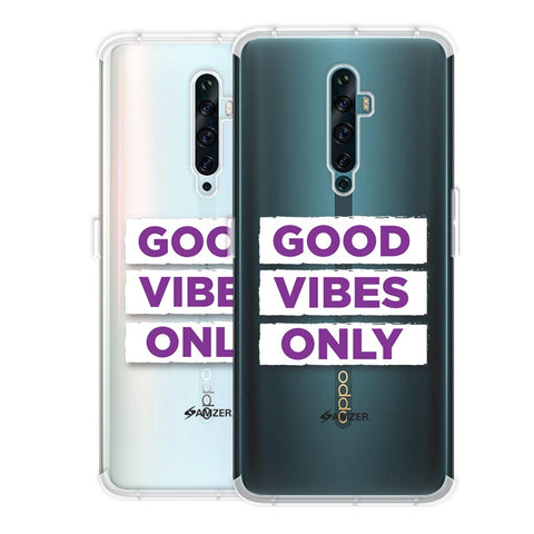 Good Vibes Only Soft Flex Tpu Case For Oppo Reno2 F
