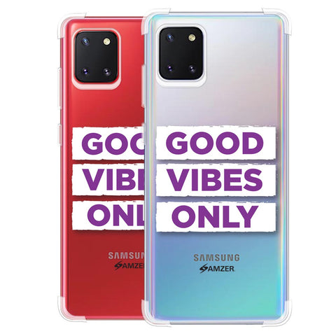 Good Vibes Only Soft Flex Tpu Case For Samsung Galaxy Note10 Lite