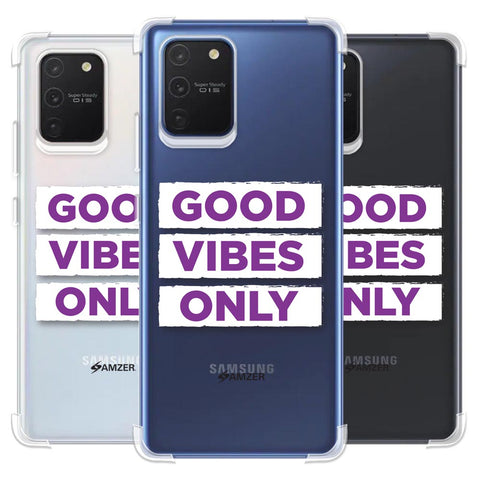 Good Vibes Only Soft Flex Tpu Case For Samsung Galaxy S10 Lite
