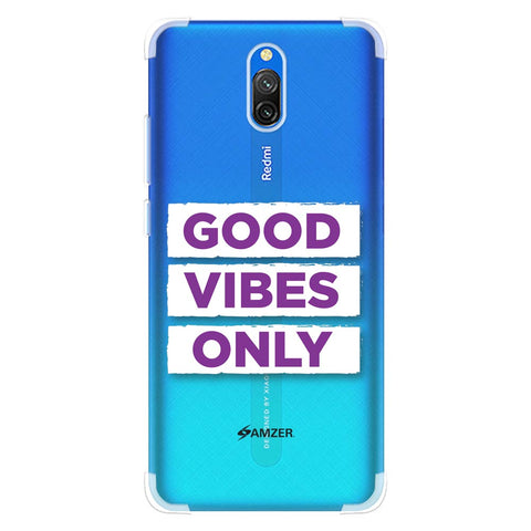 Good Vibes Only Soft Flex Tpu Case For Redmi 8A Dual