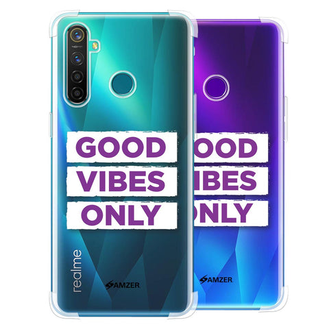 Good Vibes Only Soft Flex Tpu Case For Realme 5 Pro