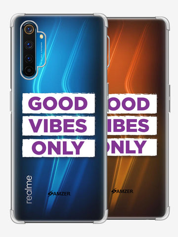 Good Vibes Only Soft Flex Tpu Case For Realme 6 Pro