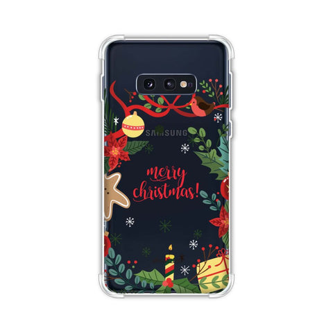 Christmas Cheer 1 Soft Flex Tpu Case For Samsung Galaxy S10e