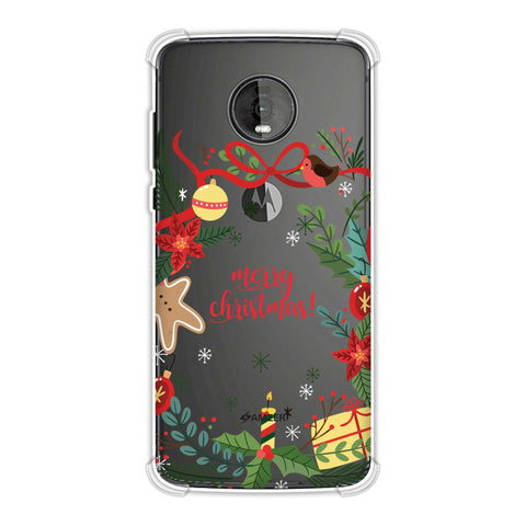 Christmas Cheer 1 Soft Flex Tpu Case For Motorola Moto Z4