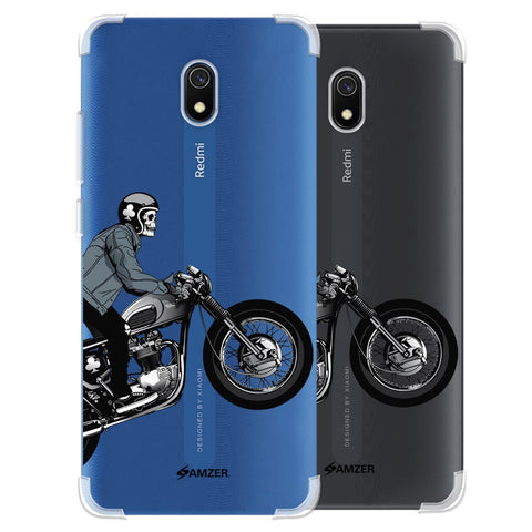 Love for Motorcycles 2 Soft Flex Tpu Case For Redmi 8A