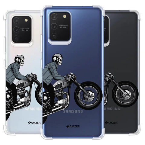 Love for Motorcycles 2 Soft Flex Tpu Case For Samsung Galaxy S10 Lite