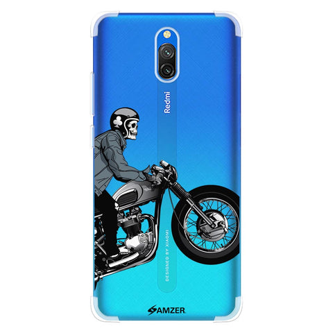Love for Motorcycles 2 Soft Flex Tpu Case For Redmi 8A Dual