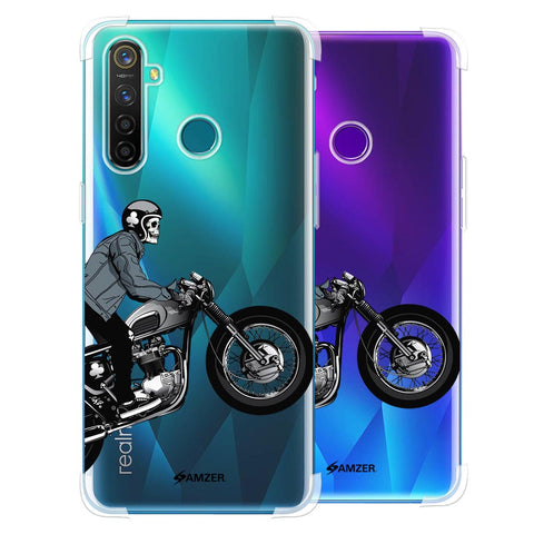 Love for Motorcycles 2 Soft Flex Tpu Case For Realme 5 Pro