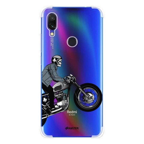 Love for Motorcycles 2 Soft Flex Tpu Case For Redmi Y3